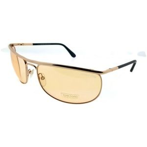 Tom Ford FT0418-28E Men's Gold Frame Sunglasses
